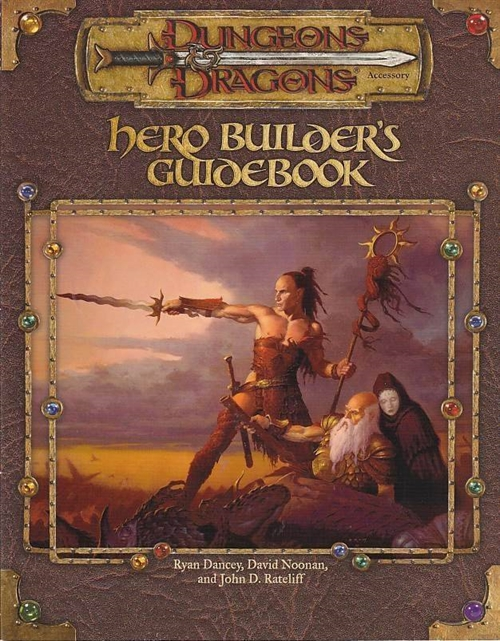 Dungeons & Dragons 3.0 - Hero Builders Guidebook (Genbrug)